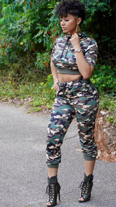 ON THE GO Camo 2 Piece Set