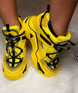 HONEYBEE wedge Sneakers