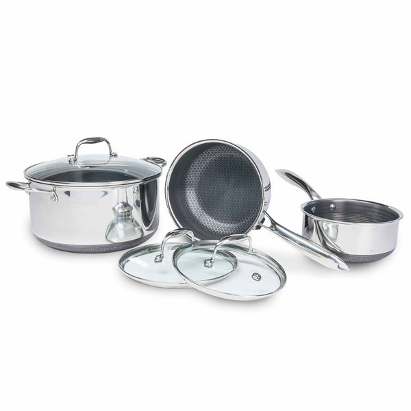 6pc Hexclad Pot Set