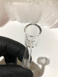 25mm Clear Thick bottom banger - Seven Ten Coils