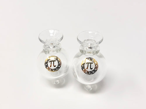 Quartz Pi clear ball caps - Seven Ten Coils