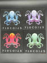 4 pack of 5.5 inch square 710 Coils  Octopus mood mats