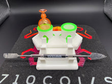GlobMobUSA Double Dabber and Carb Cap Rack -Mini Combo Station