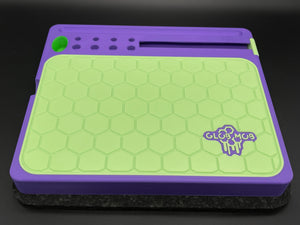Deluxe Rolling Tray by Glob Mob / Stash Tray / Papers Tray / Joint Rolling
