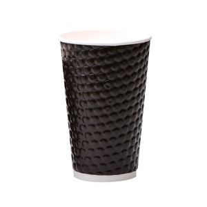 luckypack 16oz embossed paper cup