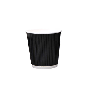 luckypack 6.5oz vertical ripple paper cup