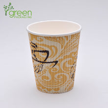Load image into Gallery viewer, luckypack 16oz vertical ripple paper cup