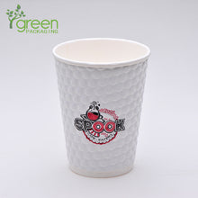 Load image into Gallery viewer, luckypack 12oz embossed paper cup