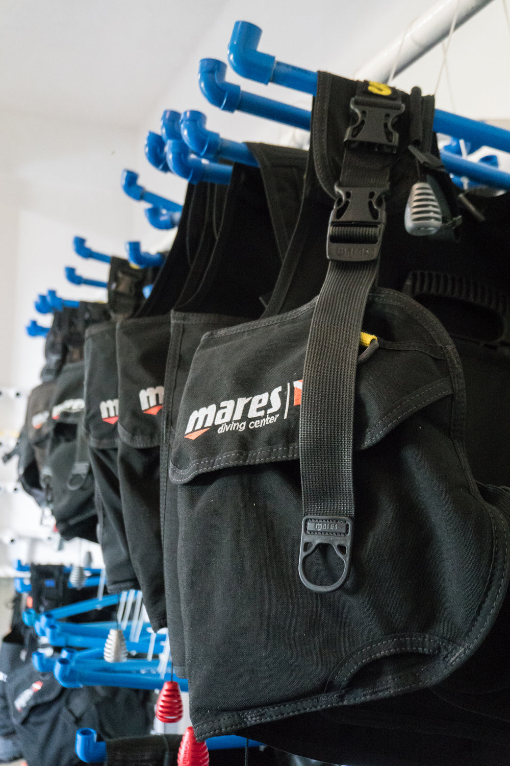 Dive equipment rental