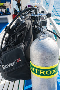 Nitrox fills packages, Malapascua Philippines