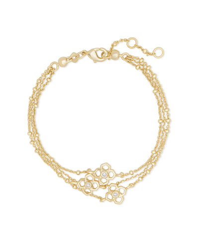 Rue Multi Strand Bracelet In Gold