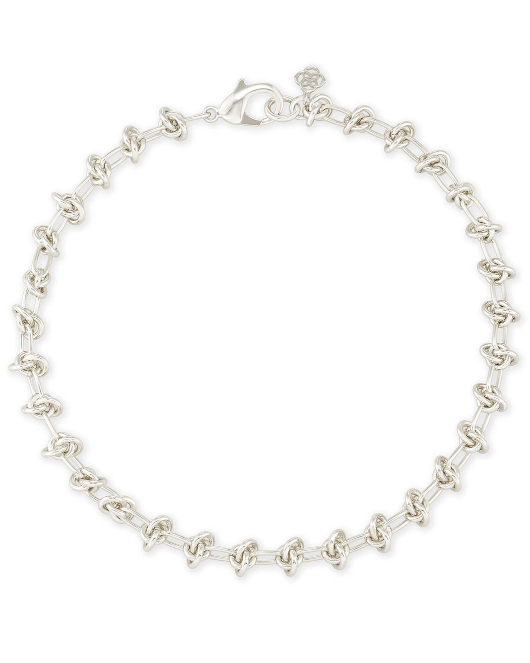Presleigh Choker Necklace in Bright Silver