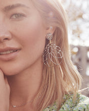 Load image into Gallery viewer, Hallie Statement Earrings In Gold