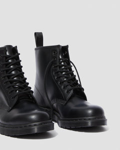 1460 MONO SMOOTH LEATHER LACE UP BOOTS