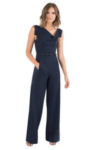Black Halo Jackie O Jumpsuit  - Eclipse