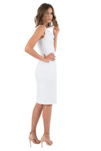 Load image into Gallery viewer, Black Halo Classic Jackie O Dress - White