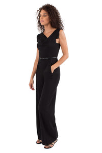 Black Halo Jackie O Jumpsuit  - Black