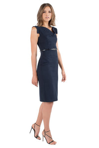 Black Halo Classic Jackie O Dress - Eclipse