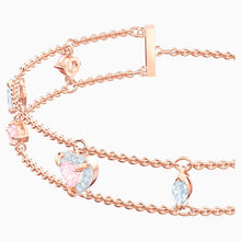 Load image into Gallery viewer, ONE BRACELET, MULTI-COLORED, ROSE-GOLD TONE PLATED