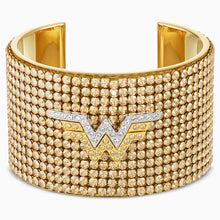 Load image into Gallery viewer, FIT WONDER WOMAN CUFF, GOLD TONE, MIXED METAL FINISH