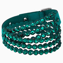 Load image into Gallery viewer, SWAROVSKI POWER COLLECTION BRACELET, GREEN