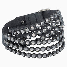 Load image into Gallery viewer, SWAROVSKI POWER COLLECTION BRACELET, DARK GRAY