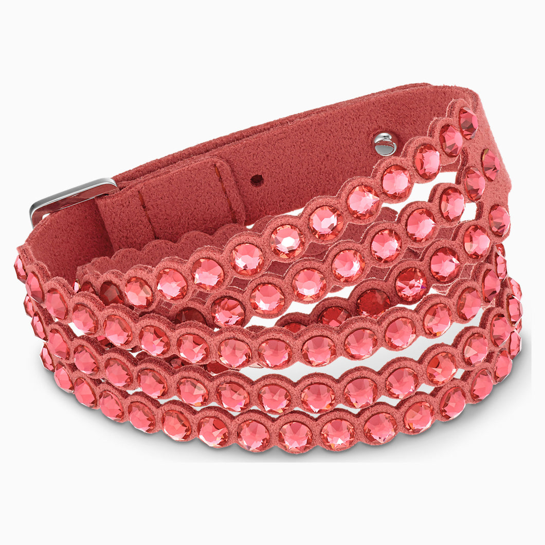 SWAROVSKI POWER COLLECTION BRACELET, LIGHT RED