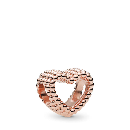 PANDORA Rose Beaded Heart Charm