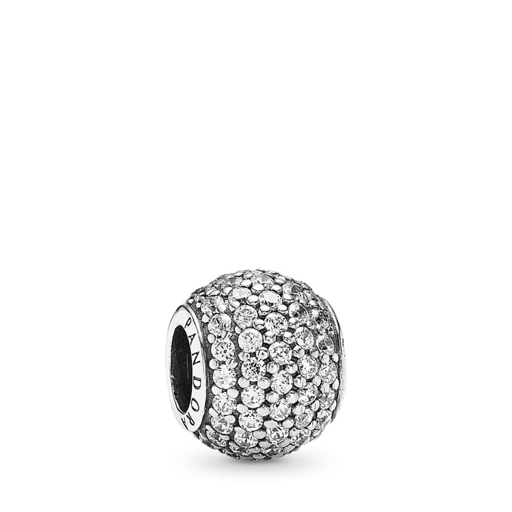 Pandora Pavé Lights Charm, Clear CZ