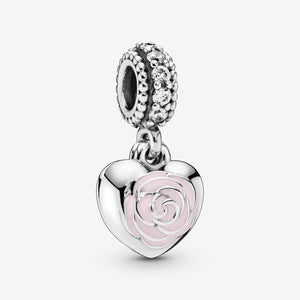 Mother and Friend Flower Dangle Charm