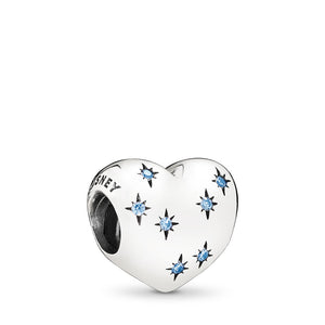 Pandora Disney, Cinderella's Dream Charm, Fancy Light Blue CZ