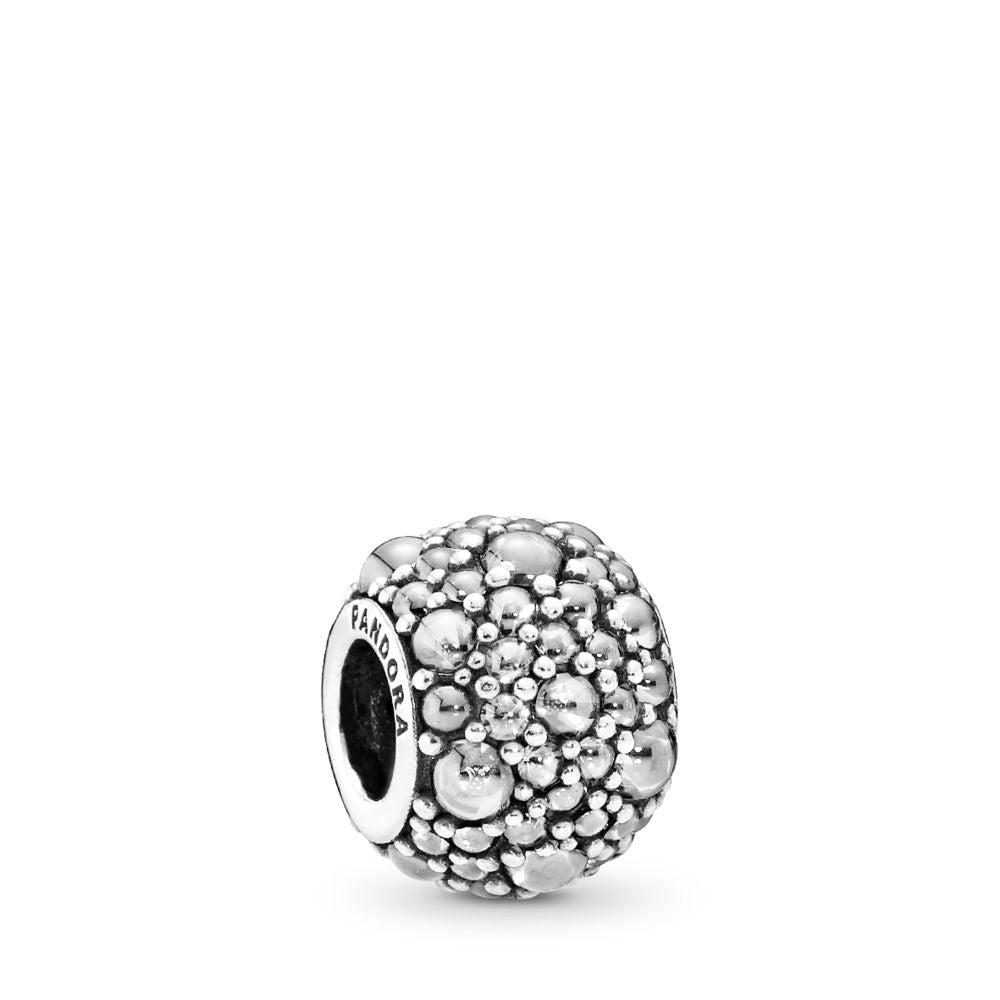 Pandora Shimmering Droplets Charm, Clear CZ