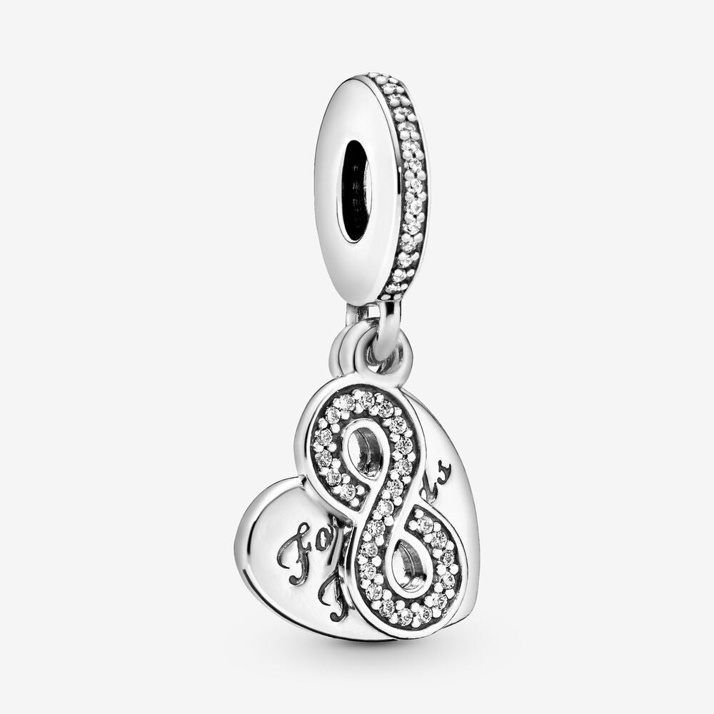 Forever Friends Heart Dangle Charm