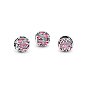 PANDORA Nature's Radiance, Pink & Clear CZ