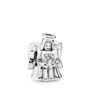 Pandora Angel of Love Charm, Clear CZ