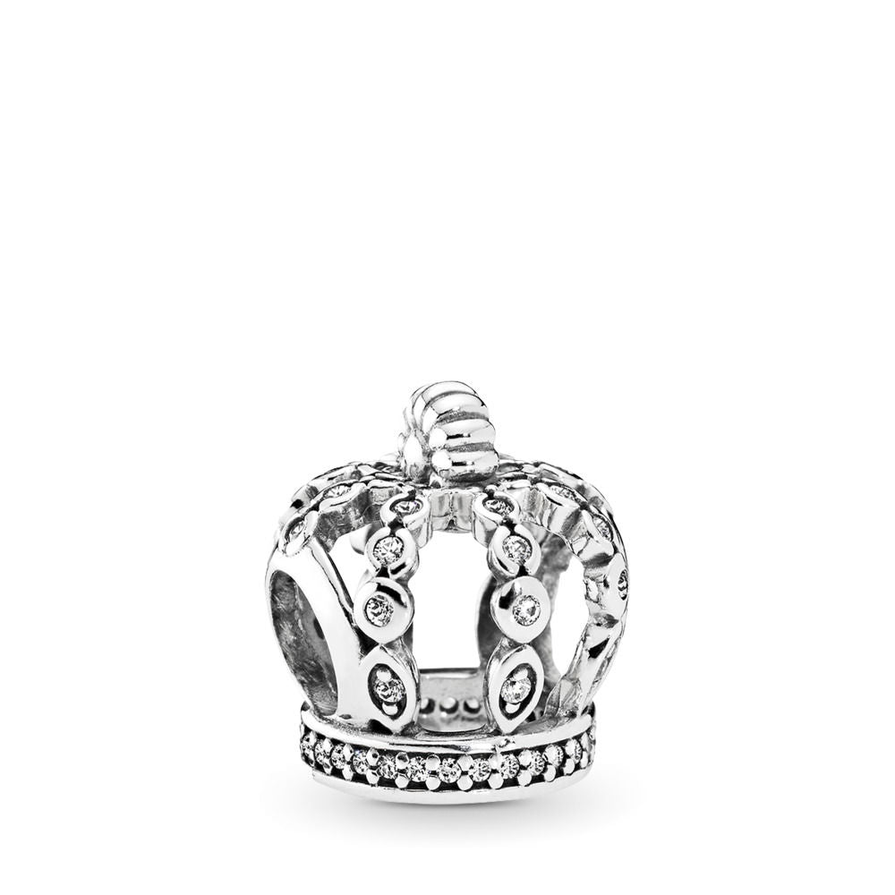 Pandora Fairytale Crown Charm, Clear CZ