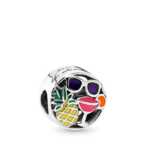 PANDORA Summer Fun Charm, Mixed Enamel