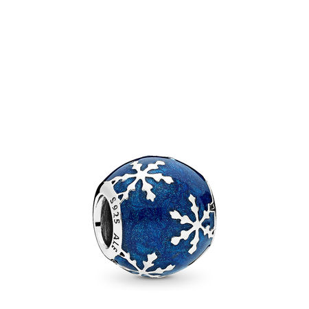 Pandora Wintry Delight Charm, Midnight Blue Enamel