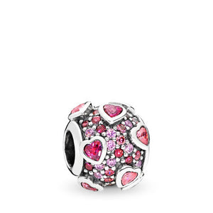 Pandora Explosion of Love Charm, Multi-Colored CZ