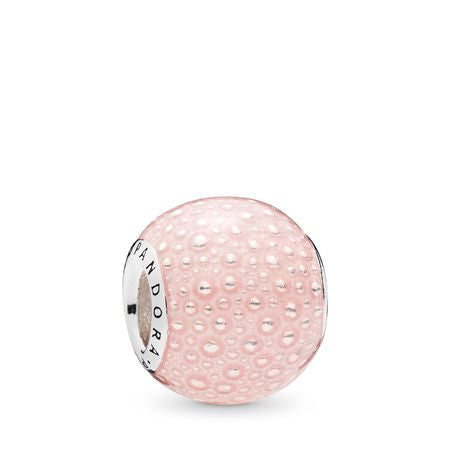 Pandora Pink Enchantment Charm, Transparent Pink Enamel