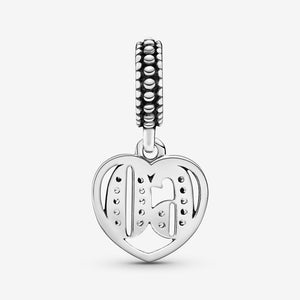 60th Celebration Dangle Charm