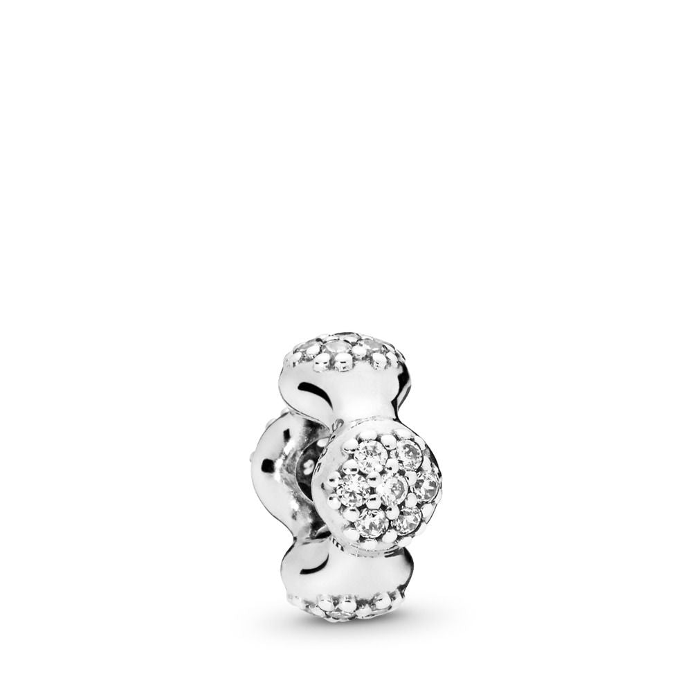 PANDORA Modern LovePods Spacer, Clear CZ