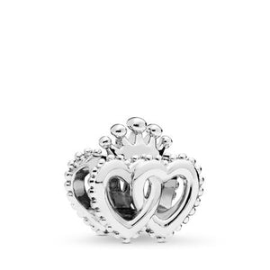 Pandora United Regal Hearts Charm