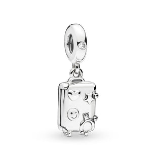 Pandora Suitcase Dangle Charm
