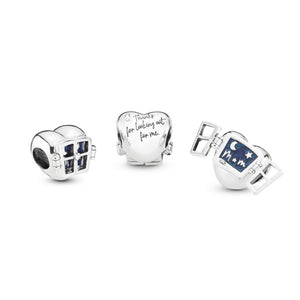 Pandora Window Heart Charm