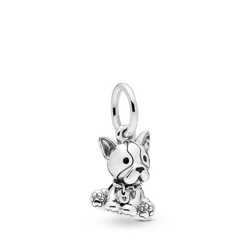 PANDORA Bulldog Puppy Dangle Charm