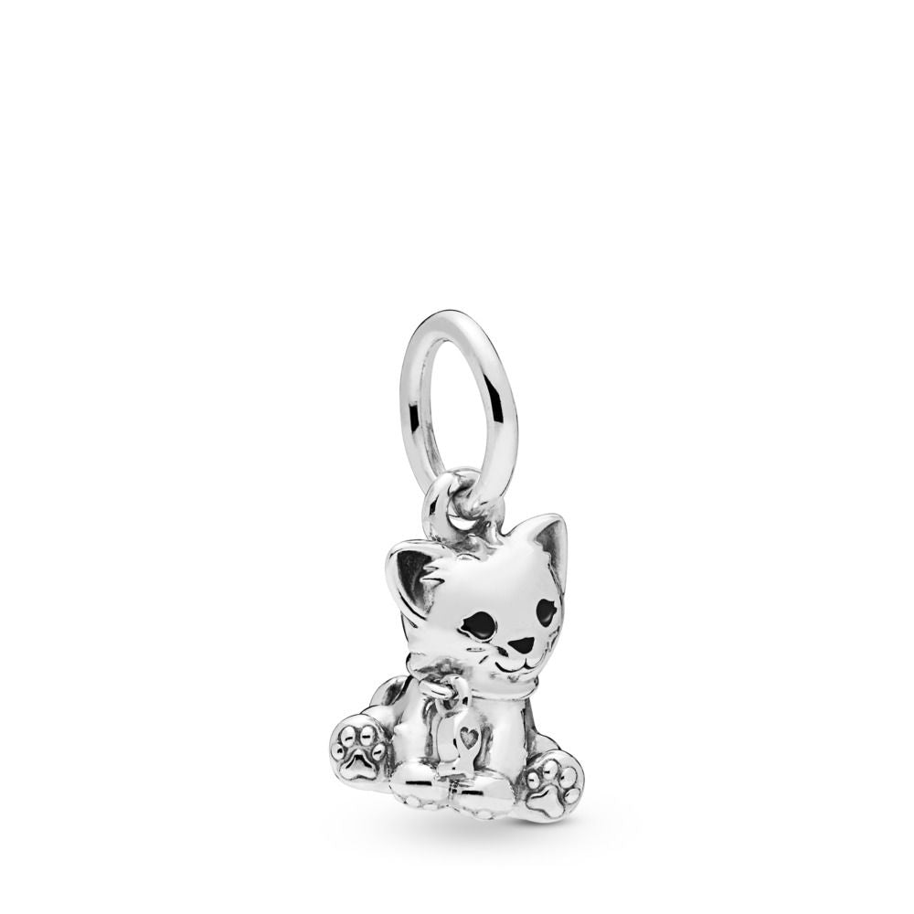 PANDORA Sweet Cat Dangle Charm