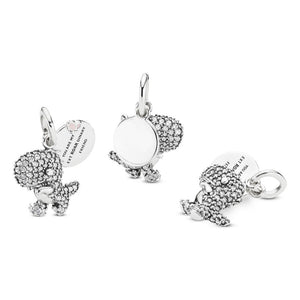 Pandora Pave Dinosaur Dangle Charm
