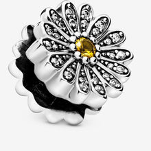 Load image into Gallery viewer, Sparkling Daisy Flower Clip Charm