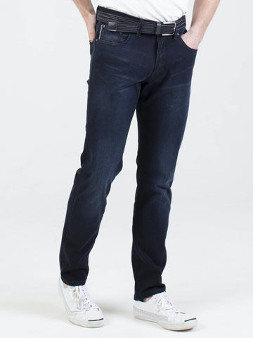 Mish Mash Flex Hyperflex Denim Jeans Twilight Tapered Fit